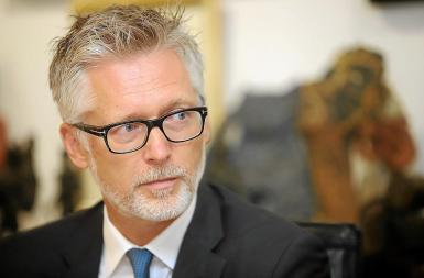 Austria's ambassador to Spain, Christian Ebner.