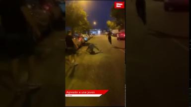 Video of alleged assault and violence in Son Rossinyol Industrial Estate in Palma.