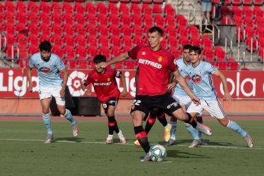 Two goals for Budimir, as Mallorca beat Celta Vigo 5-1.