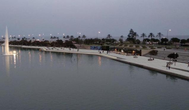 Parc de la Mar renovation project.