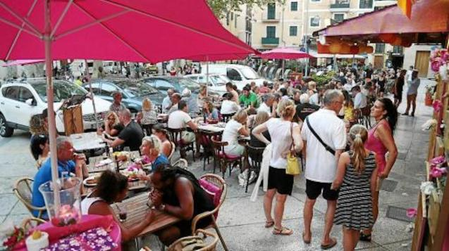 Spanish population declines in Palma.