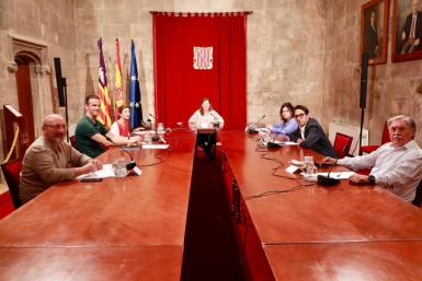 The Balearic government, business and unions were pleased by the fijo discontinuo agreement.