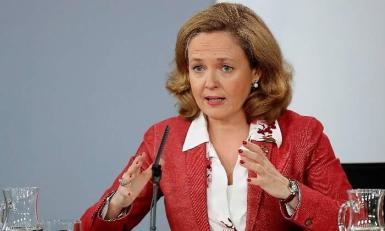 Spanish Economy Minister Nadia Calvino.