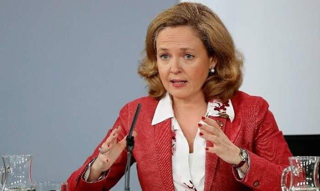 Spanish Economy Minister Nadia Calvino
