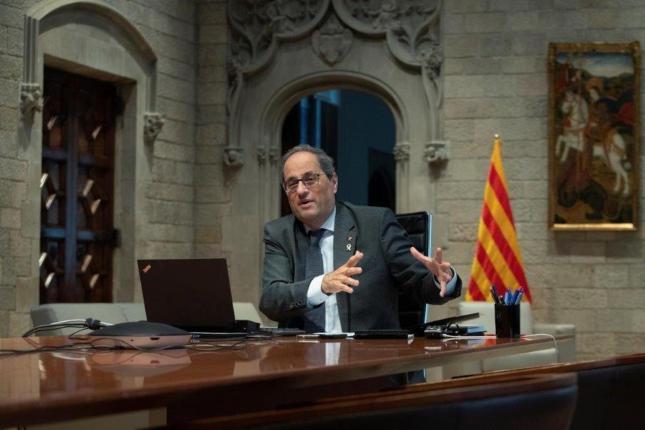 Quim Torra, Catalan Regional President.