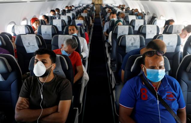 Face Mask on planes