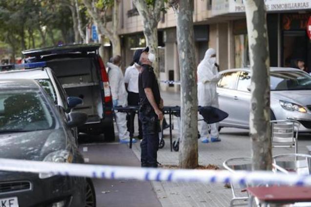 Fatal accident in Carretera Valldemossa, Palma.
