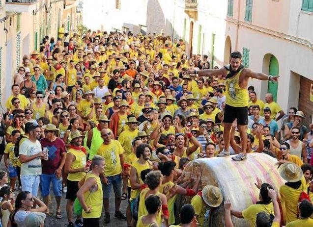 Embala't celebrations in Sencelles, Majorca.