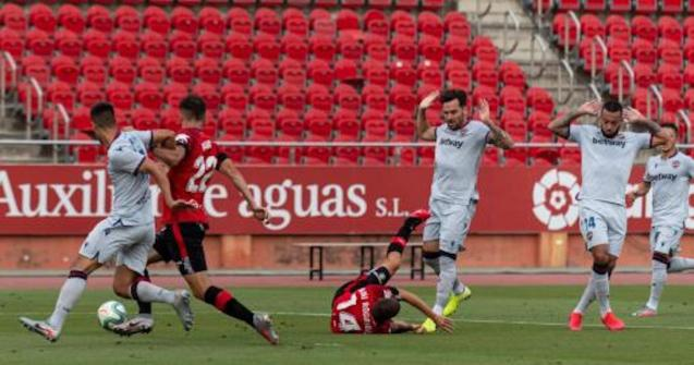 Real Mallorca victorious in Palma.