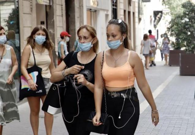 Masks compulsory from Monday in the Balearic Islands.