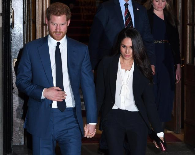 Harry and Meghan Markle.
