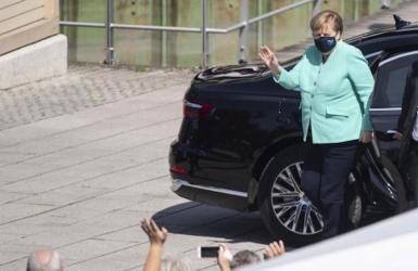 Angela Merkel, German Chancellor.