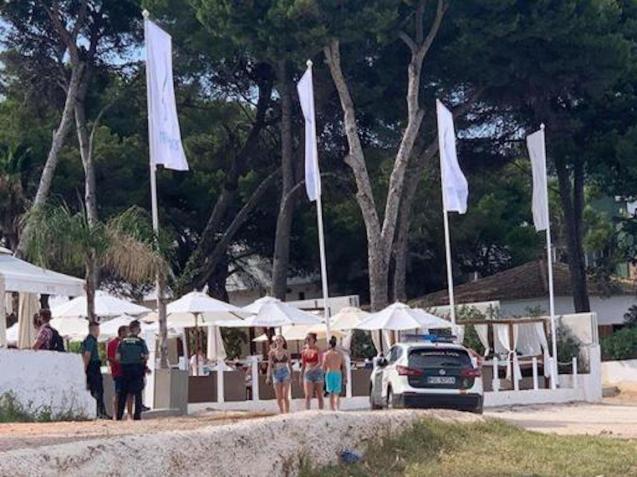 Calvia beach club may be sanctioned.