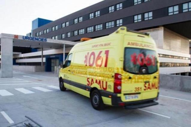 British woman seriously injured in fall.