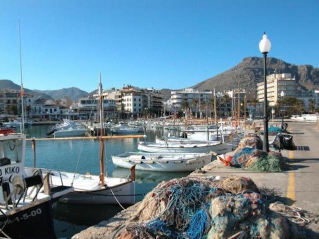 Puerto Pollensa, Majorca.