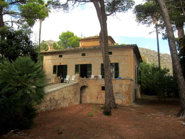 The building of Can Franch in Puerto Pollensa