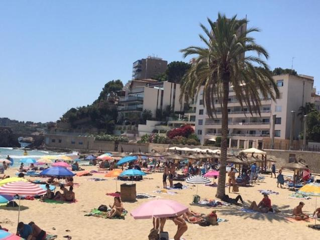 La Playa de Cala Major, Palma.