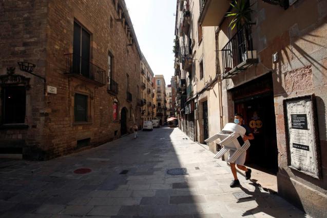 Unemployment in Spain.