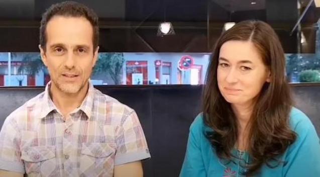 Dr Ángel Ruiz Valdepeñas and Dr Natalia Prego Cancelo