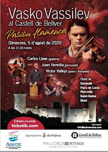 Violinist Vasko Vassilev returns to Majorca with a new show