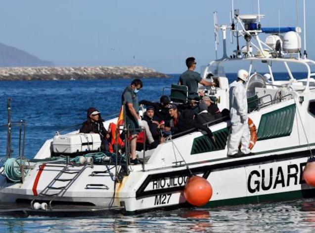 27 migrants arrested in the Balearics on Saturday.