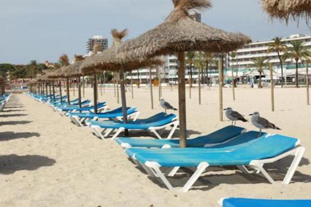 Playa de Magalluf, Majorca.