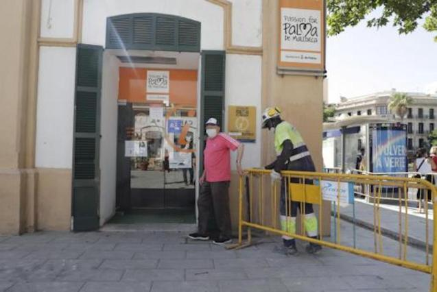 Customers & enquiries at Palma Tourist Offices have changed.