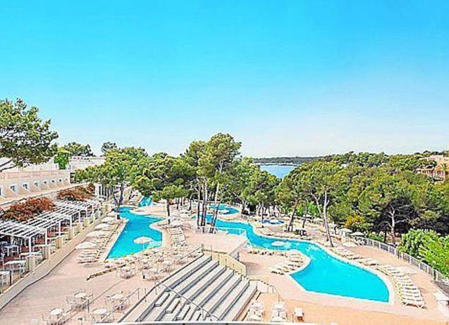 Club Cala Barca Hotel, Santanyí.