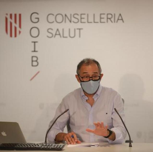 Dr Javier Arranz, Spokesperson for the Regional Committee on Infectious Diseases