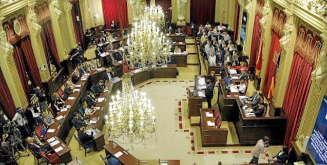 Balearic Parliament, Palma.