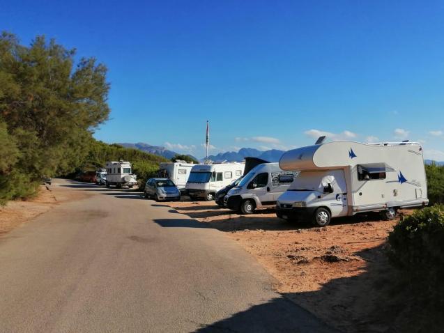 Caravans in Alcudia