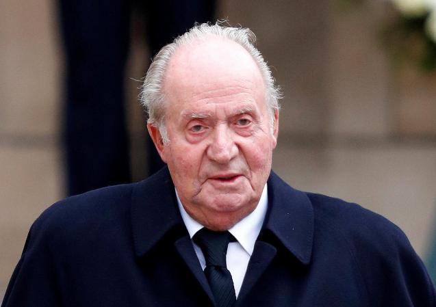 Spain's former king, Juan Carlos