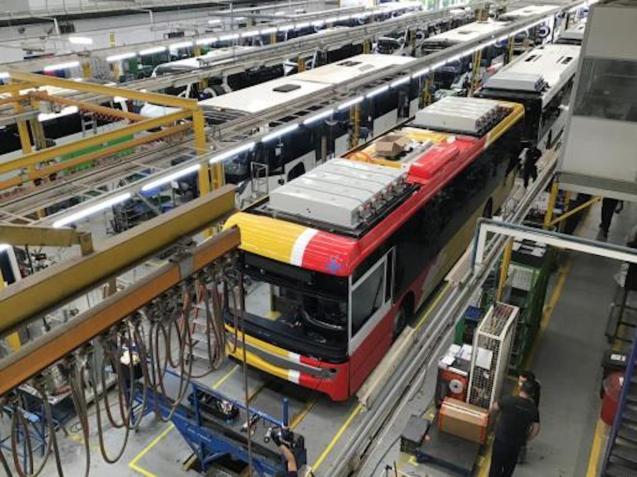 Fleet of new Interurban buses for Majorca.