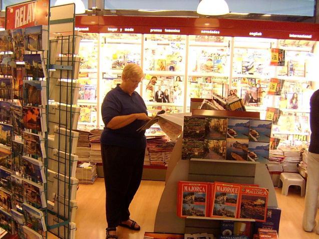 A kiosk in Palma.