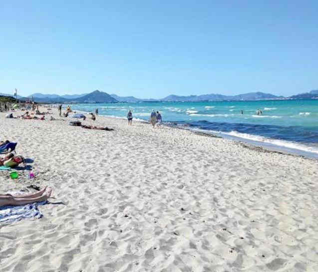 Playa dels Capellans, Majorca.