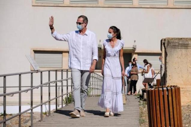 King Felipe VI & Queen Letizia in Ibiza.