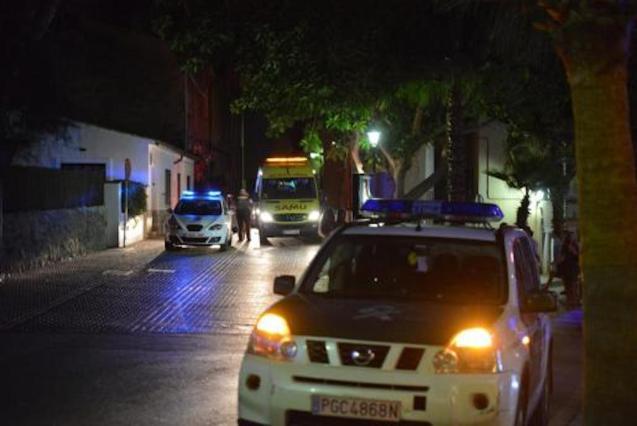 Police in Calvia.