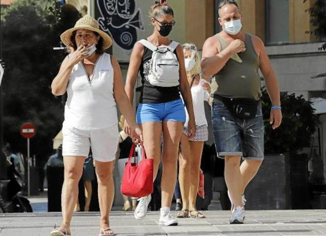 Smoking banned in public places in Majorca.