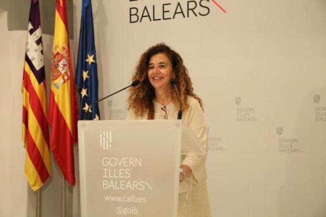 Pilar Costa, Government Spokesperson.