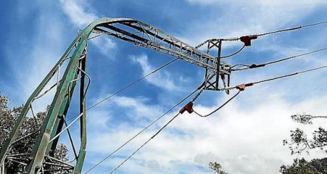 Storms in Majorca caused widespread power cuts.