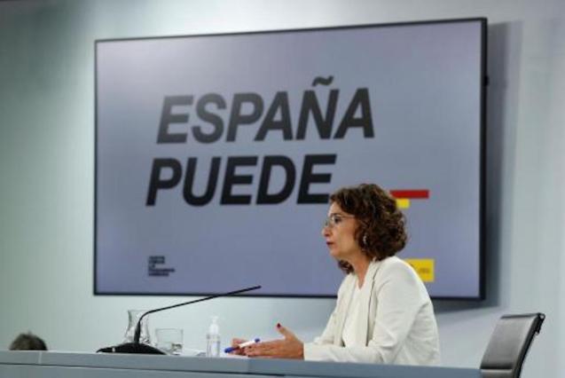 María Jesús Montero, Finance Minister.
