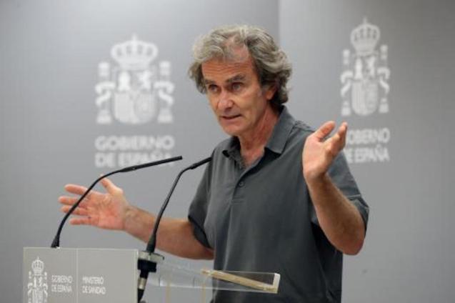Dr Fernando Simón, Director, Centre of Coordination of Alerts & Emergencies.