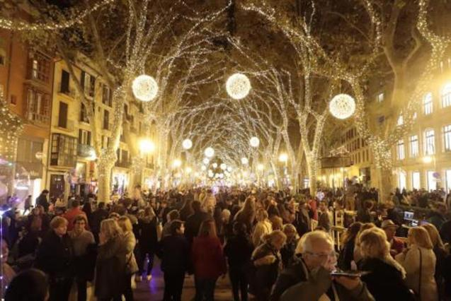 Christmas Lights in Palma.