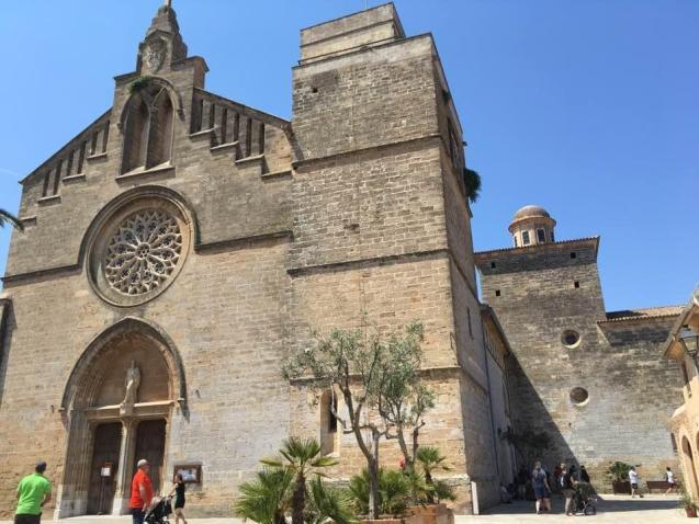 Sant Jaume Church, Alcudia.