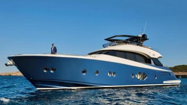 Rafa Nadal onboard 'Beethoven' yacht.