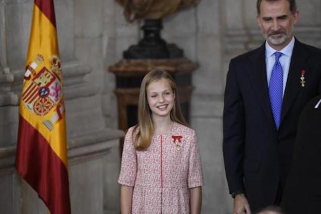 Princess Leonor & King Felipe VI.
