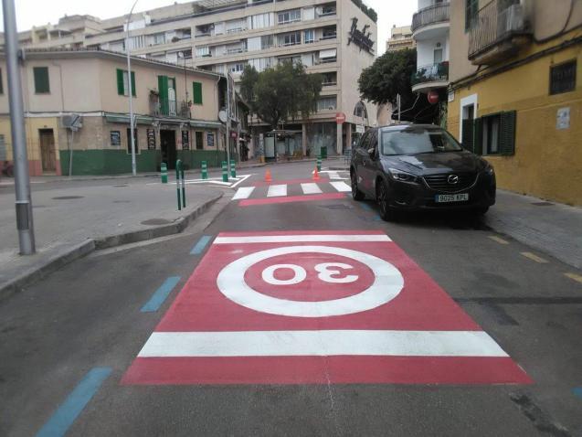 Speed limits in Palma Mallorca