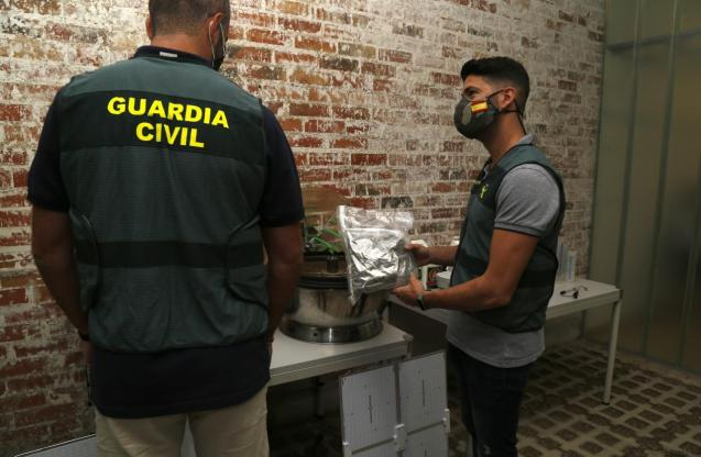 Guardia Civil drugs operation Mallorca
