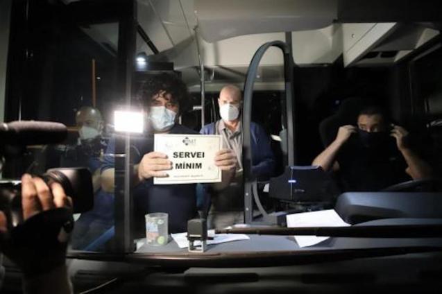 EMT workers on strike.