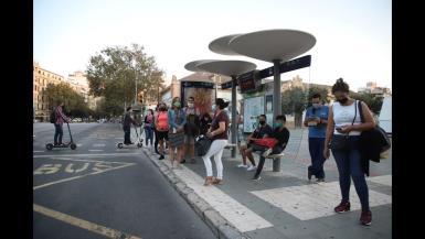 EMT workers on indefinite strike in Palma.